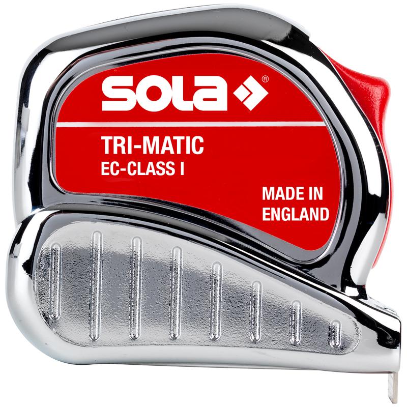 Ruleta SOLA TRI-MATIC TM 3, 3m, clasa de precizie 1