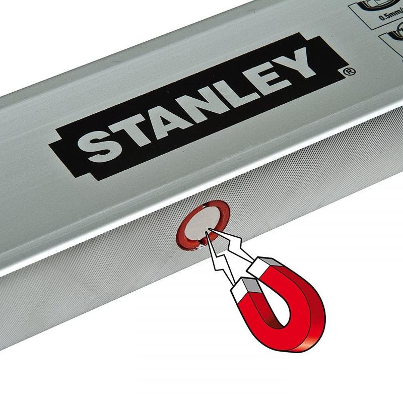 Nivela STANLEY Classic Magnetica 150cm, 3 bule