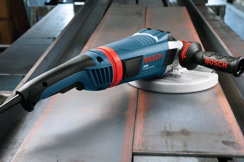 Polizor unghiular 180mm, 2200W tip GWS 22-180 LVI