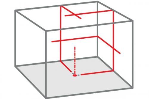 Nivela laser cu linii tip QUBO
