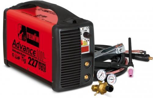 Invertor de sudura tip ADVANCE 227 MV/PFC TIG DC - LIFT VRD