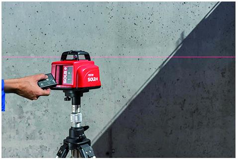 Nivela laser rotativa cu unghi inclinare reglabil PROTON S