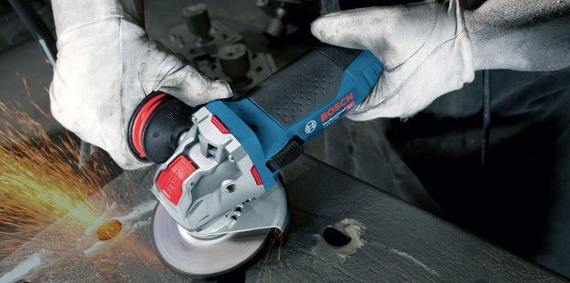 Polizor unghiular 125mm, 900W tip GWX 9-125 S, cu sistem X-LOCK
