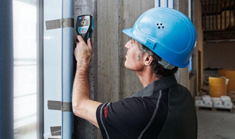 Detector digital pentru pereti cu acumulatori tip D-tect 120