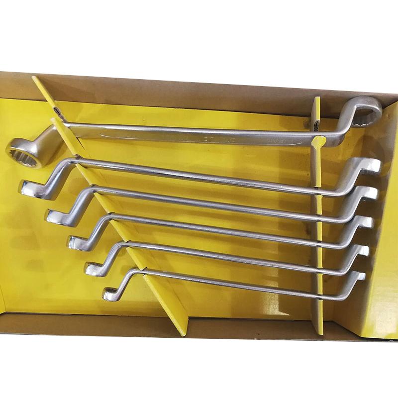 Set 6 chei inelare cu cot 6 - 17 mm