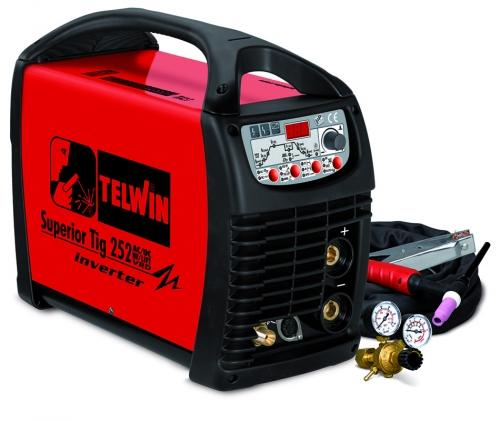 Invertor sudura TIG/WIG tip SUPERIOR TIG 252 AC/DC-HF/LIFT VRD