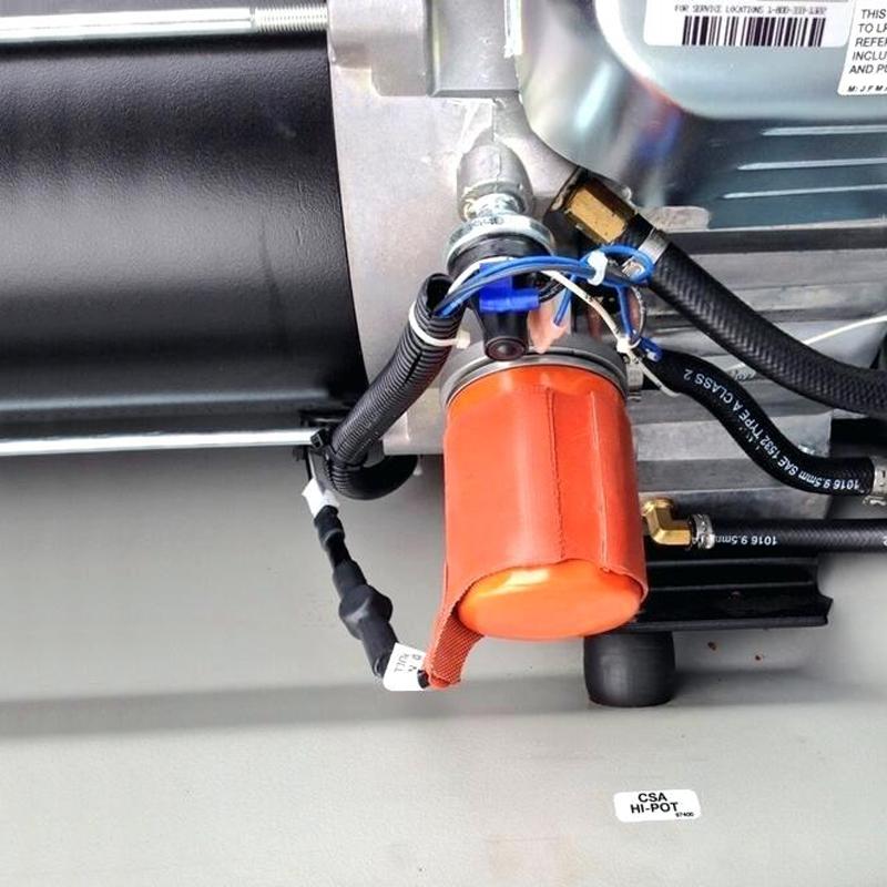Kit preincalzire ulei - generatoare pe gaz
