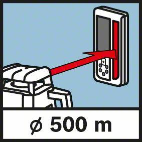 Nivela laser rotativa GRL 500 HV + LR50