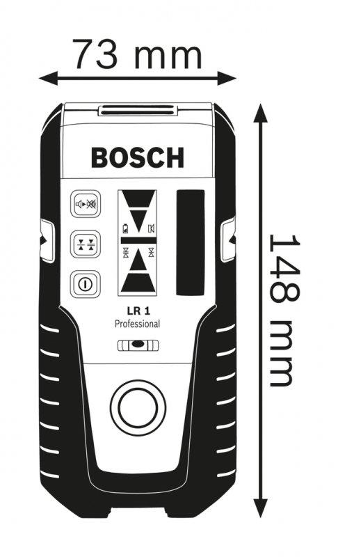 Receptor nivele laser 200m, tip LR 1