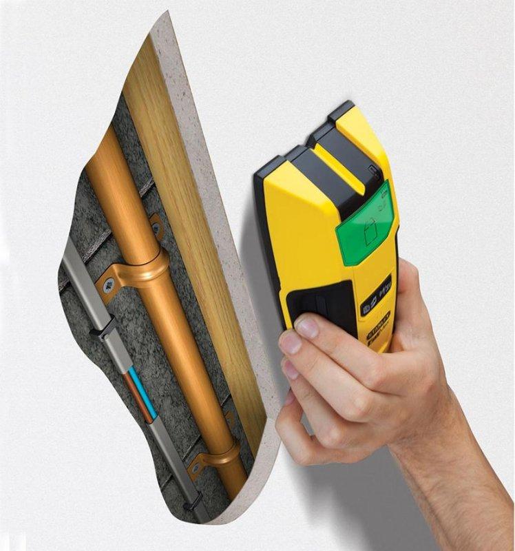 Detector de metal, lemn, cabluri sub tensiune S300