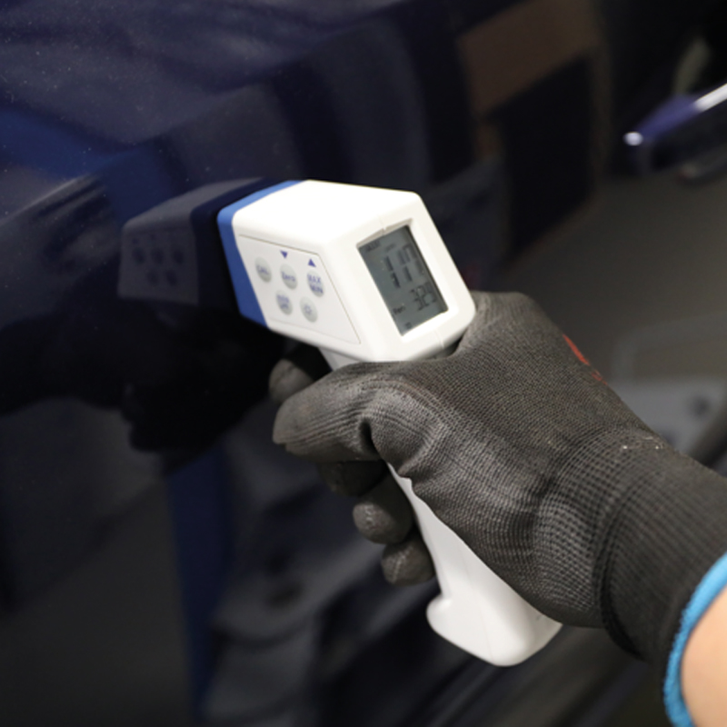 Tester strat vopsea pentru fier si metale neferoase