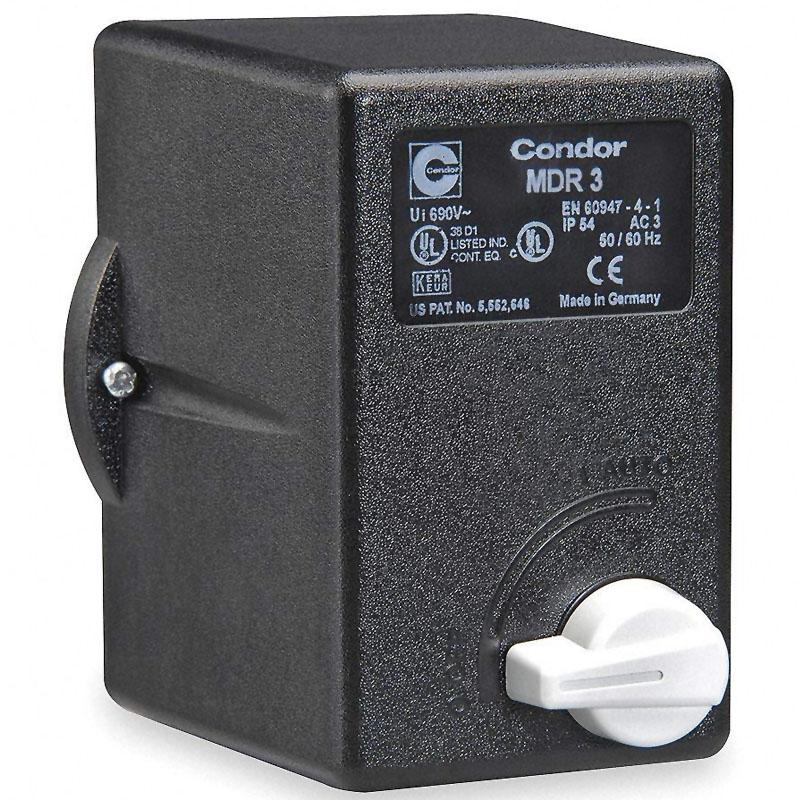 Presostat trifazat Condor MDR3 6,3A tip 840/1