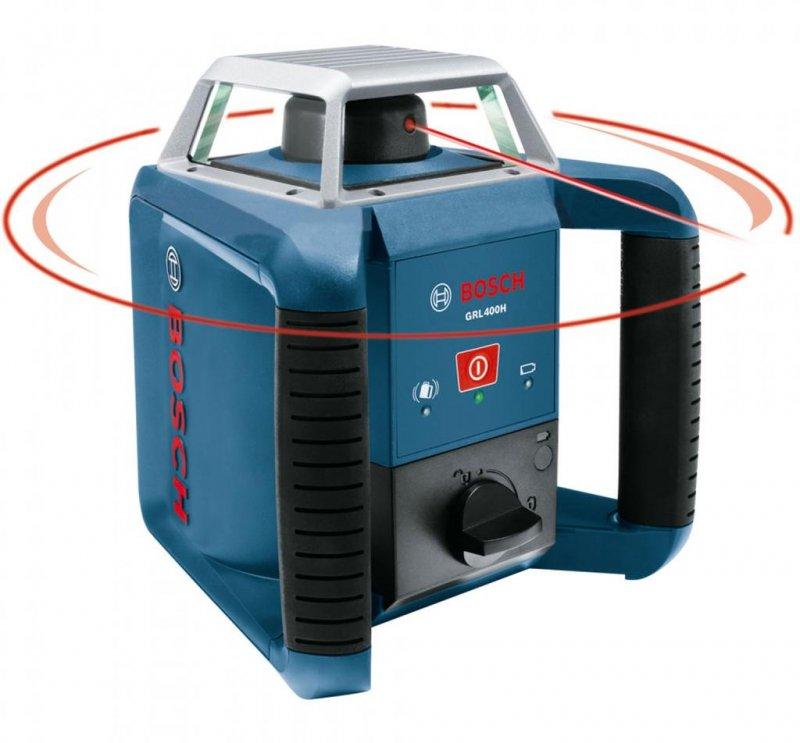 Nivela laser rotativa tip GRL 400 H + BT 170 HD + GR 240