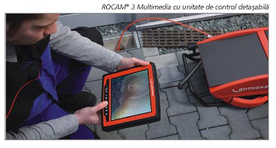 ROCAM 4 PLUS cap 30 mm - interval lucru ø 70 - 150mm