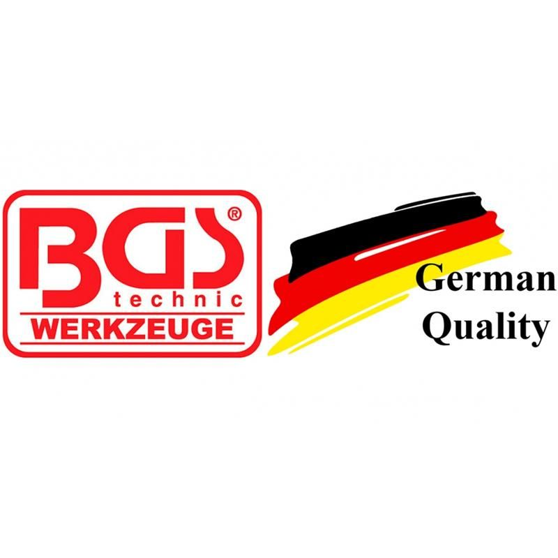 Set palete de amestecare BGS, 1 x 60mm, 1 x 77mm, 1 x 60mm plastic