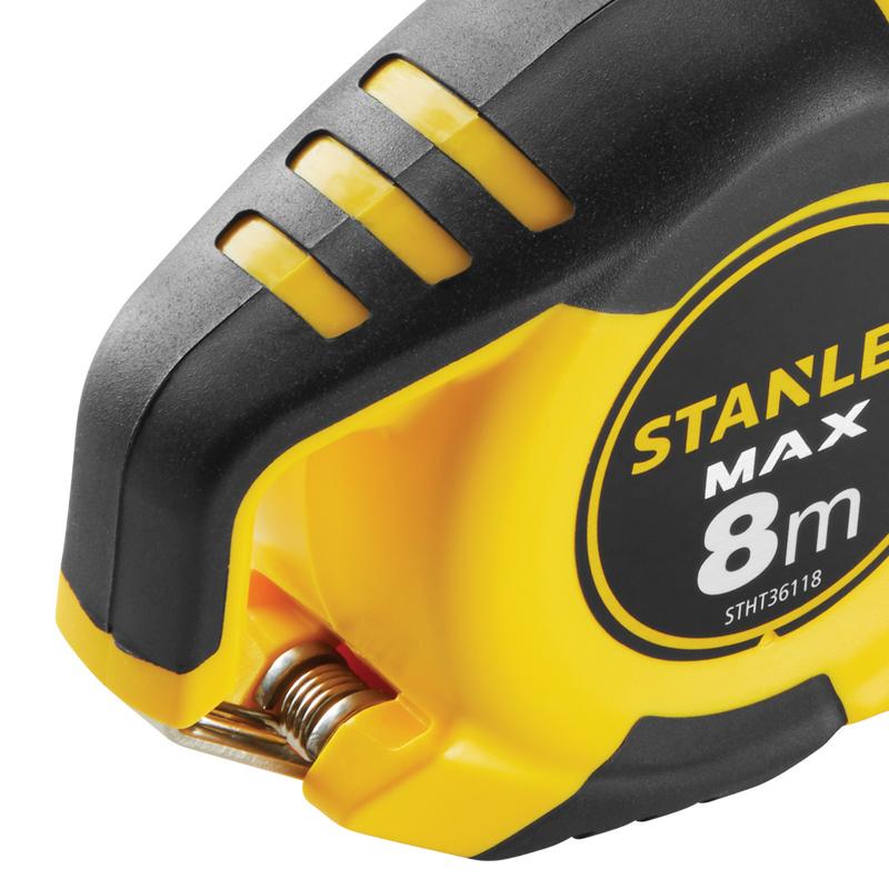 Ruleta STANLEY tip MAX magnetica, 8 m x 25 mm
