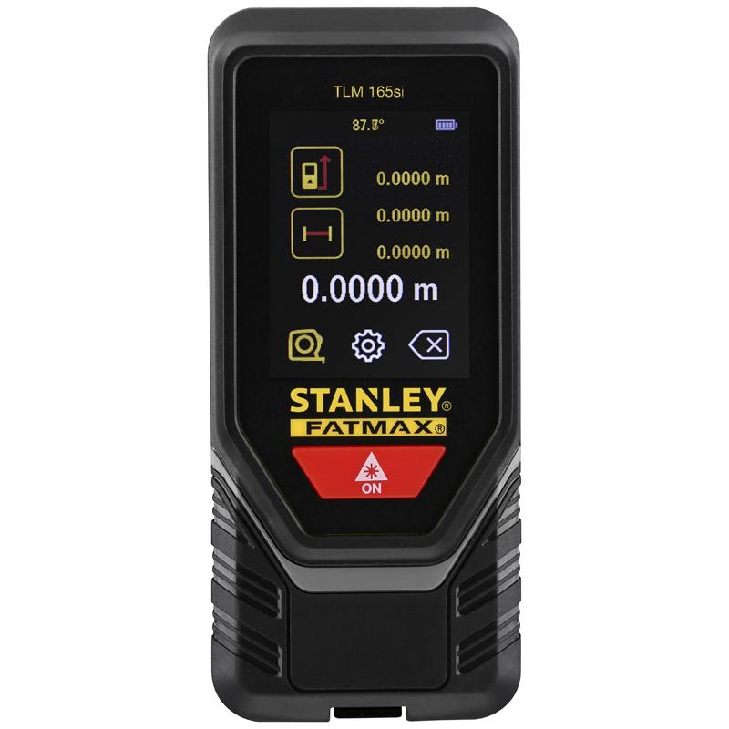 Telemetru STANLEY tip TLM165SI, distanta masurare 60 m, cu Bluetooth