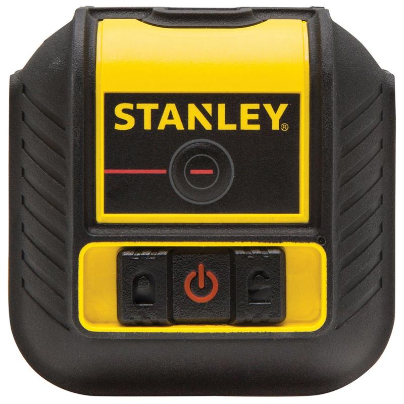 Nivela laser STANLEY, tip CROSS 90, dioda verde