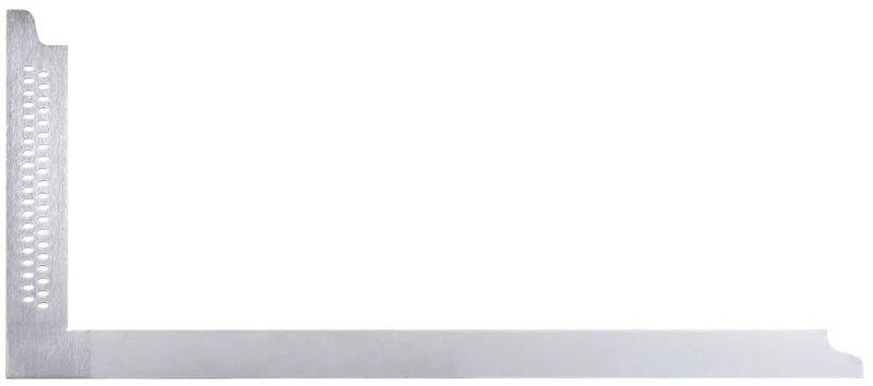 Echer pentru dulgheri, din otel zincat, 600 x 280 mm, cu gauri pentru marcare, Sola tip ZWZB 600