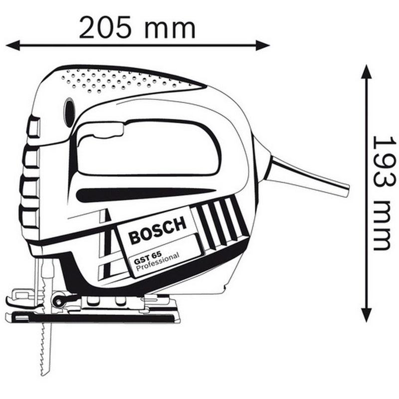 Fierastrau vertical (pendular) tip GST 65 B