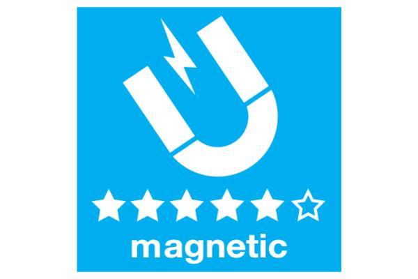 Suport perete magnetic cu filet 1/4