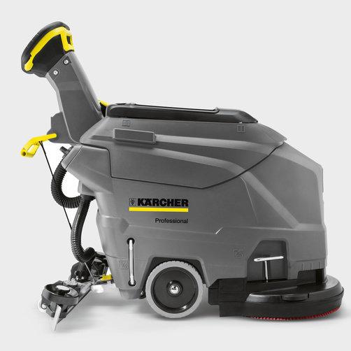 Masina de frecat-aspirat compacta BD 43/35 C Ep cu lama de aspirare V900