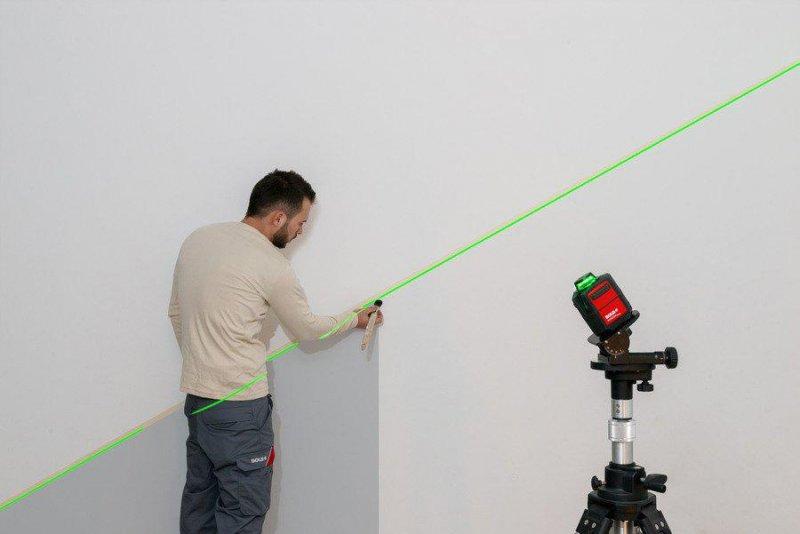 Nivela laser circular si vertical, verde - HORIZON GREEN BASIC