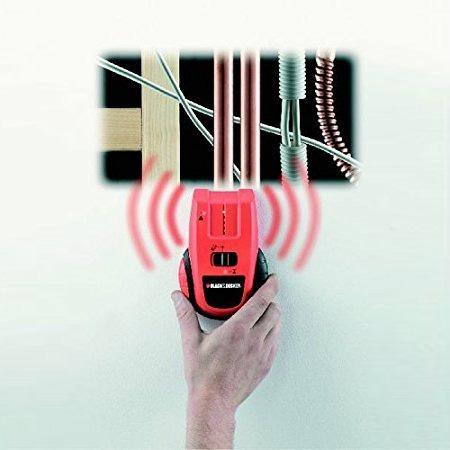 Detector de metal, lemn, cabluri sub tensiune BDS300-XJ