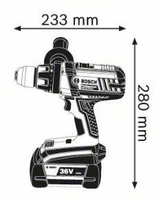 Masina de gaurit/insurubat cu acumulator GSR 36 VE-2-LI