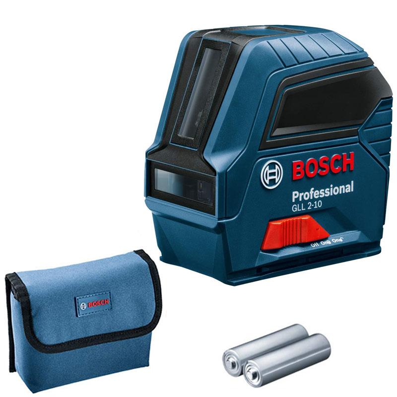 Nivela laser cu linii Bosch, tip GLL 2-10, fara functie receptor