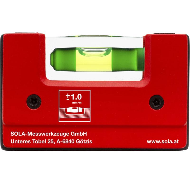 Nivela SOLA Compacta GO! CLIP 7.5cm