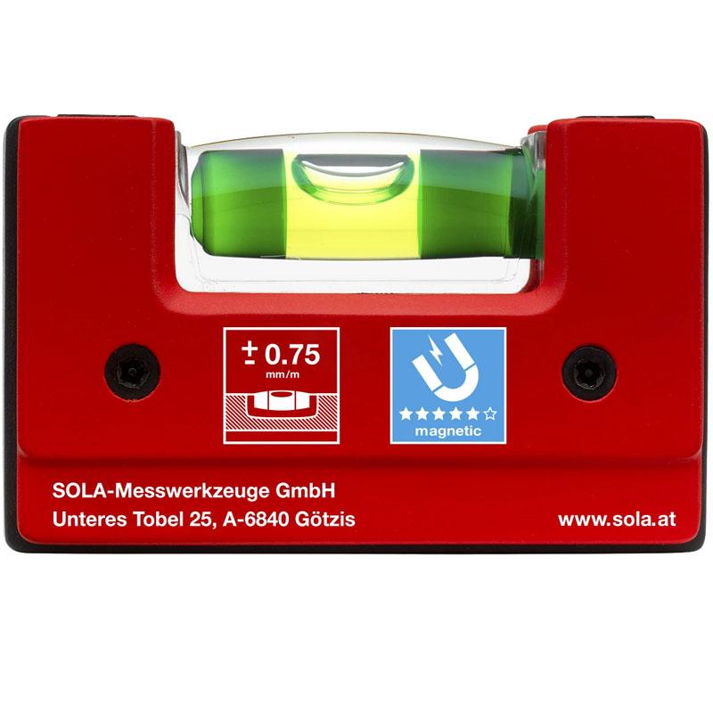 Nivela magnetica SOLA Compacta GO! magnetic 6.8cm