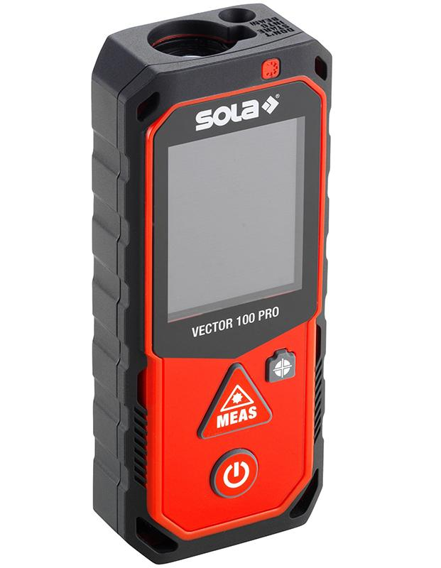 Telemetru laser VECTOR 100 PRO, camera foto, touch-screen, bluetooth