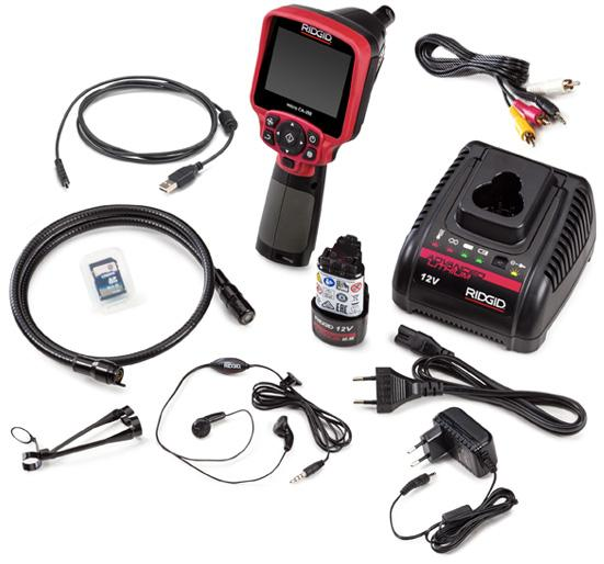 Camera inspectie Ridgid MICRO CA-350
