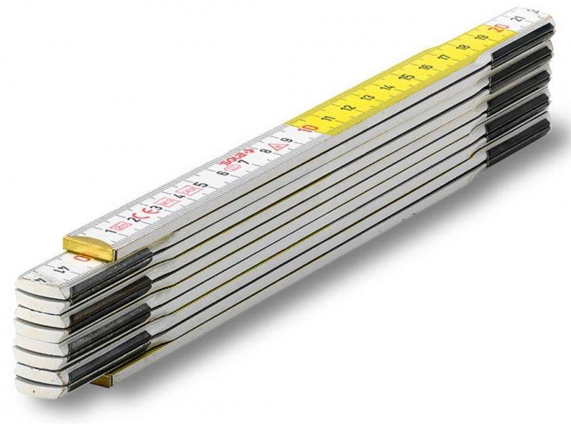 Metru pliabil din lemn tip HF 2/10, 2m