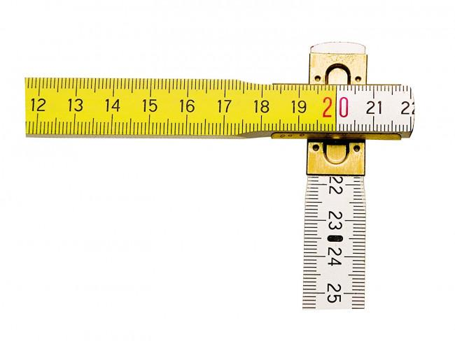 Metru pliabil din lemn, 2m