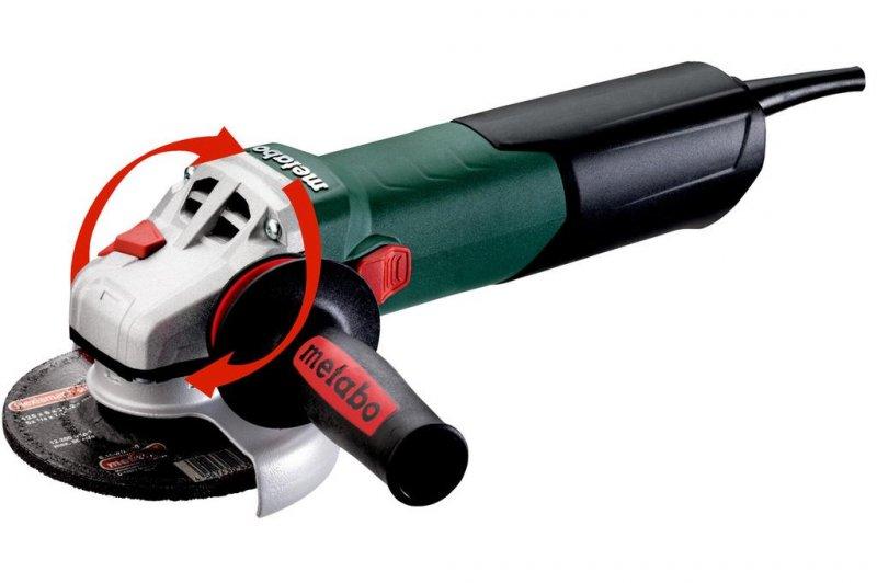 Polizor unghiular 125mm, 1700W tip WEA 17-125 QUICK