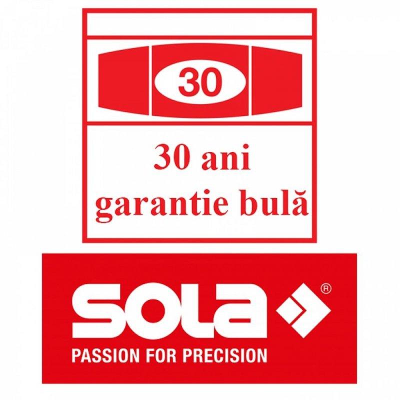 Dreptar aluminiu 3 m cu manere si 2 bule, SLXG 2 300
