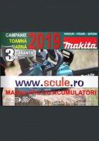 Makita PPG - Campanie toamna, iarna 2019 - masini cu acumulatori