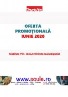 MAKITA Oferta speciala OCTOMBRIE 2019