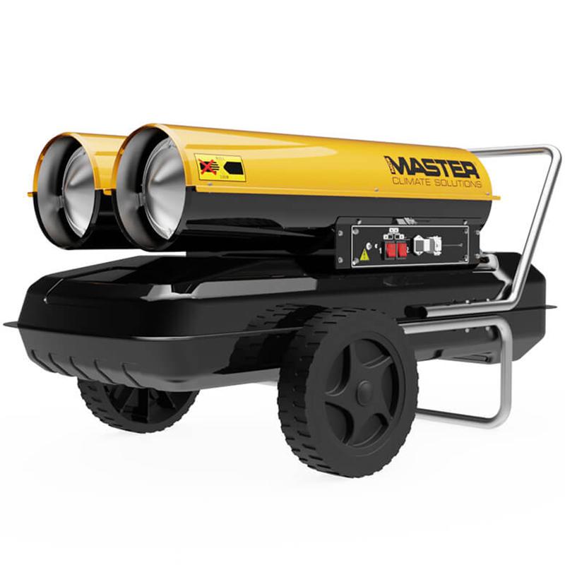 Incalzitor cu motorina cu ardere directa tip B 300 CED