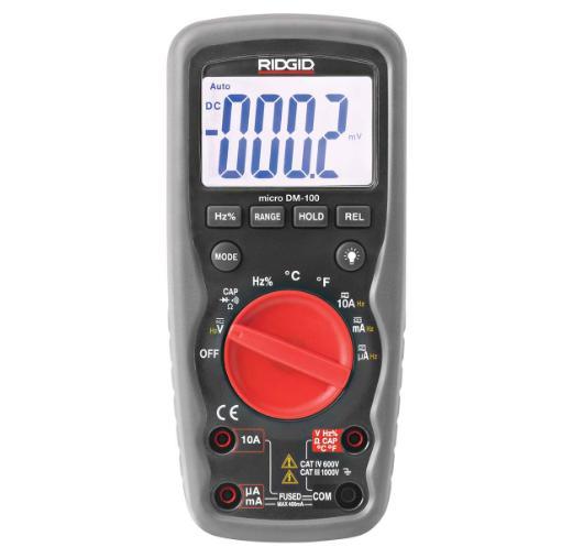 Multimetru digital Ridgid Micro DM-100