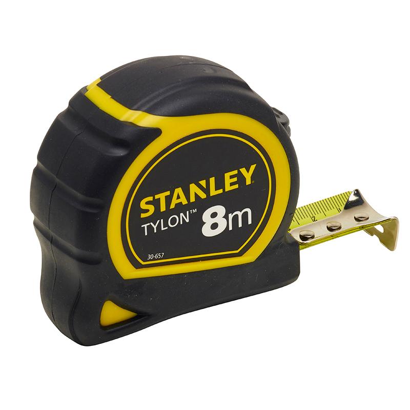 Ruleta STANLEY TYLON cu protectie cauciuc 8m