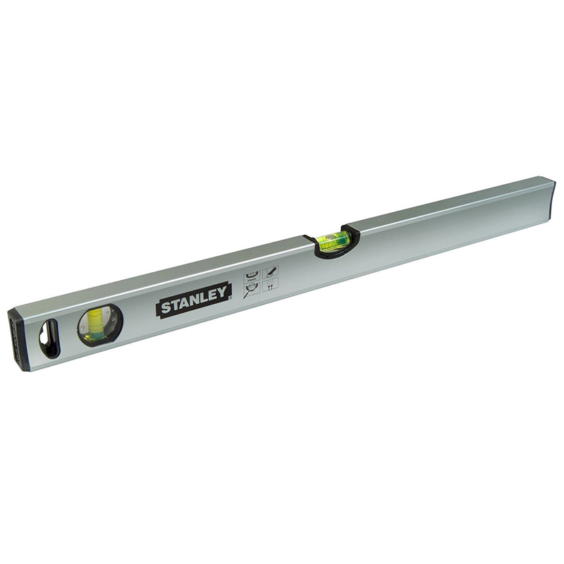 Nivela STANLEY Classic Magnetica 80cm, 2 bule