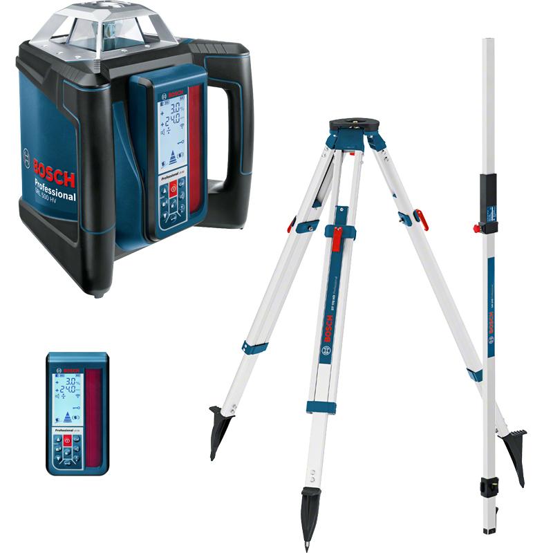 Nivela laser rotativa GRL 500 HV + LR 50 + BT170HD + GR240