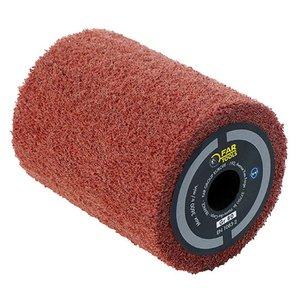 Perie fibre sintetice, pentru slefuitor / restaurator REX 80, 80x100 mm