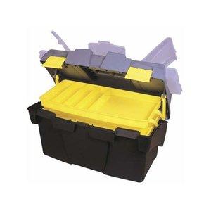 Cutie pentru scule Stanley 480 mm, dimensiuni 49.5x26.5x26.1 cm, 2 sertare retractabile