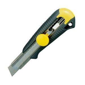 Cutit (cutter) Stanley cu sina metalica Dynagrip MP18 cu lama lunga, latime lama 18 mm