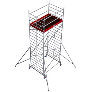 Schela Protec XXL 1,2 x 2m, aluminiu, inaltime lucru 6,3m
