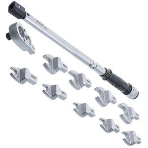 Set cheie dinamometrica 40-210 Nm, 11 piese